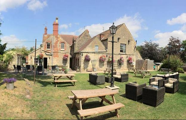 Our beer garden is great for food and drink